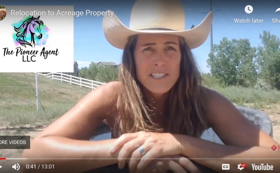 Relocation to Residential Acreage Property
